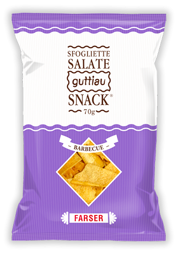 guttiau snack 70g barbecue